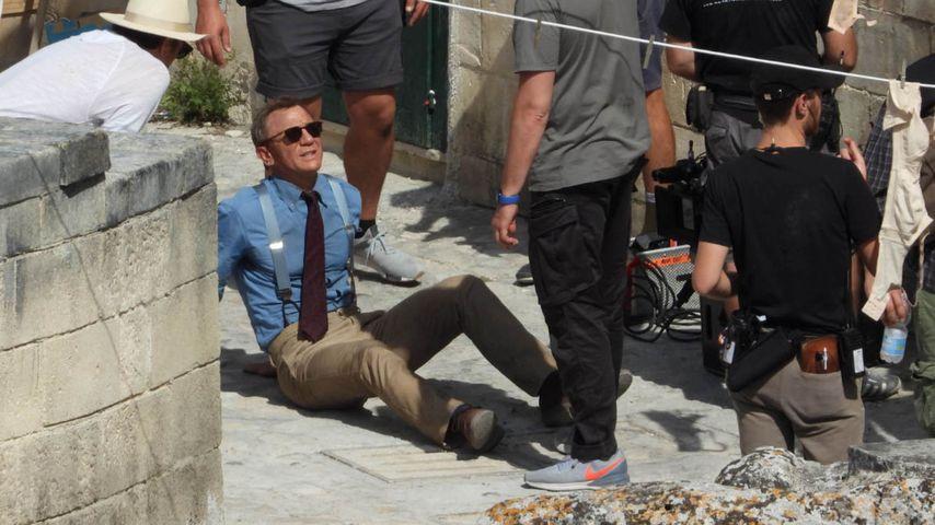 Herber Rückschlag: Daniel Craig verletzt sich beim Bond-Dreh
