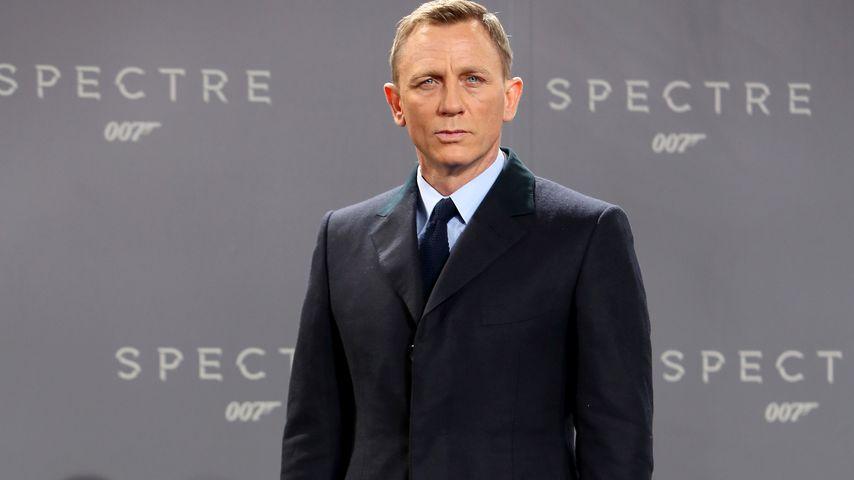 """Daniel Craig bei der """"Spectre""""-Premiere in Berlin im Oktober 2015"""