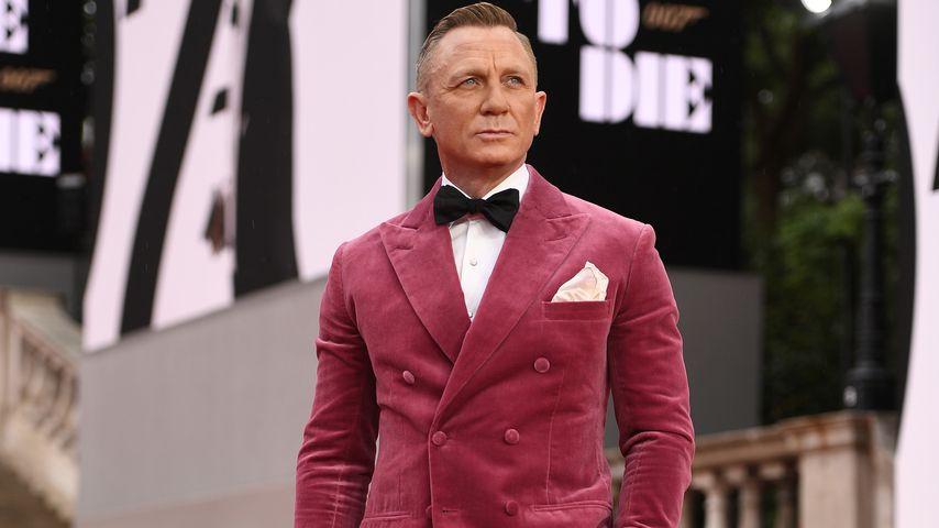 """Daniel Craig bei der """"James Bond 007: Keine Zeit zu sterben""""-Premiere, 2021"""