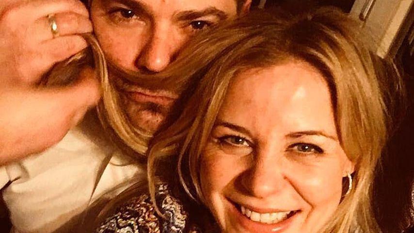 Daniel Fehlow und Jessica Ginkel, TV-Paar