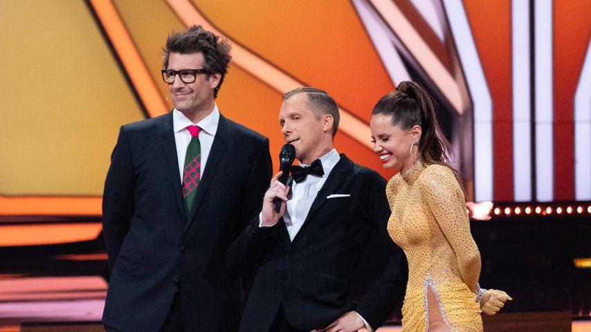 Daniel Hartwich, Oliver Pocher und Christina Luft, 2019