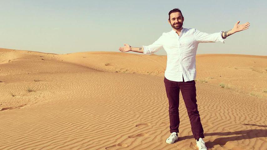 Daniel Küblböck in Dubai