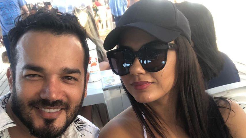 Daniel Lopes mit seiner Frau Magna im November 2019
