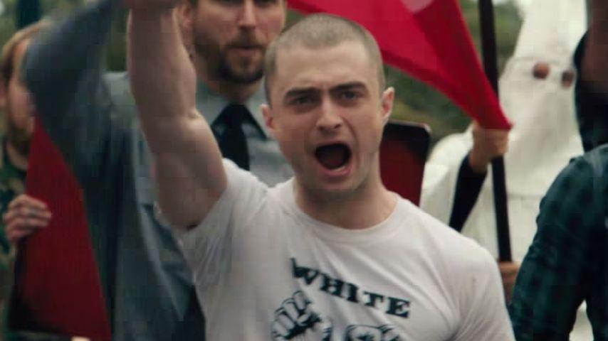 Mega unheimlich: Daniel Radcliffe als fieser Film-Neonazi