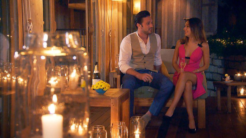 Daniel Völz und Kristina Yantsen beim Candle-Light-Dinner