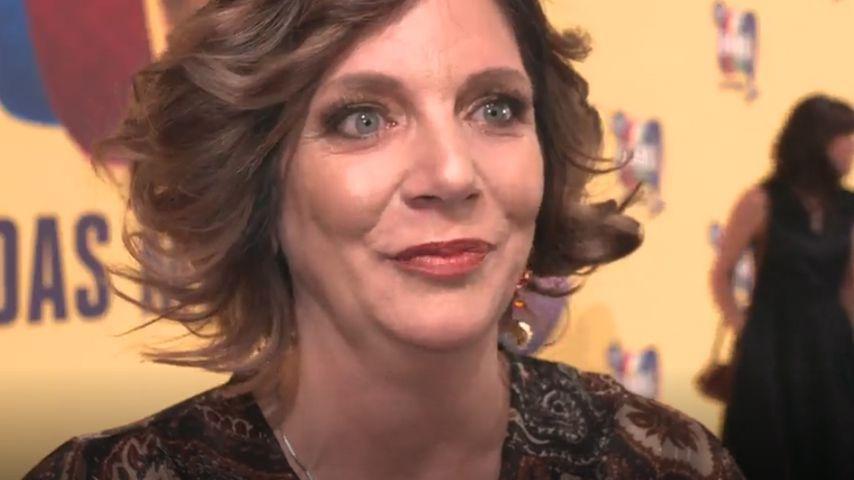 """Daniela Büchner auf der Musical-Premiere von """"The Band"""""""