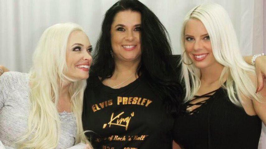 Daniela Katzenberger, Mama Iris Klein und Jennifer Frankhauser im August 2016