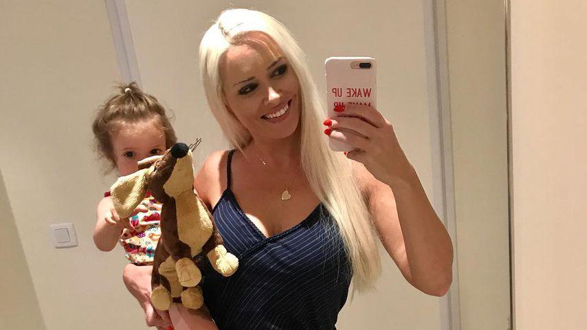 Daniela Katzenberger mit ihrer Tochter Sophia
