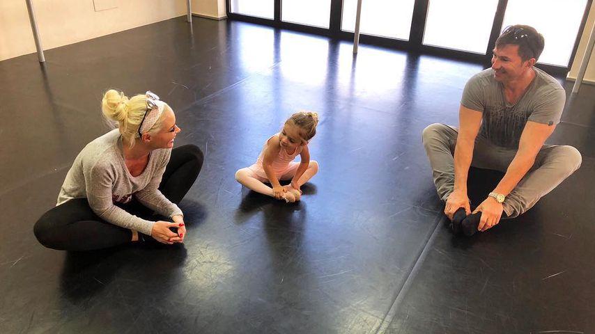 Die Katze mega-gerührt: Sophia Cordalis wird zur Ballerina!