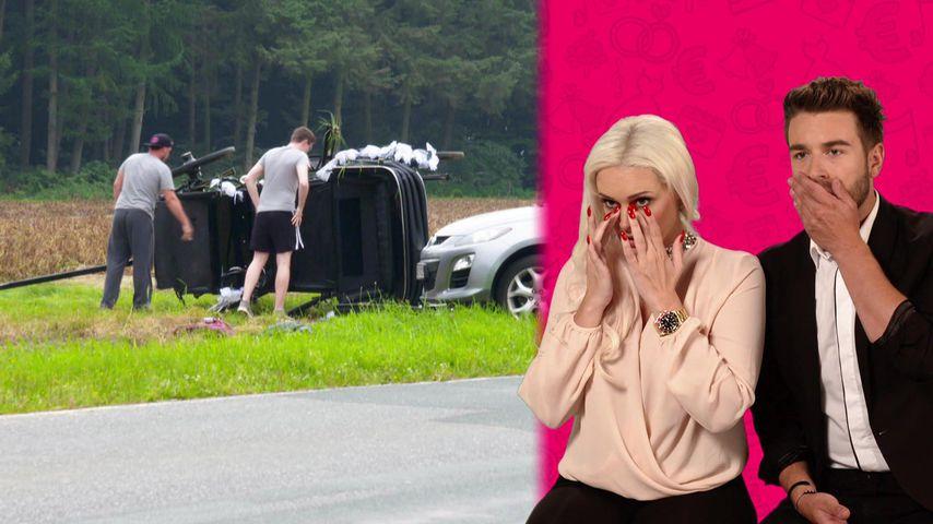 Schock vor dem Jawort: Bei Danis Show passiert ein Unfall!