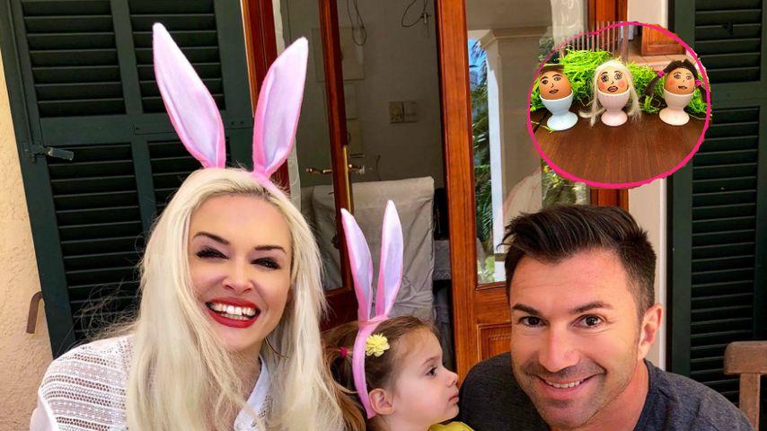 Runde Sache! Die Katze & Family verbringen Ostern als Eier