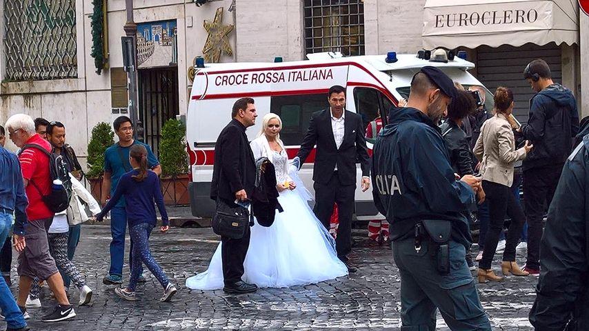2. Hochzeit? Daniela Katzenberger im Brautkleid gesichtet!