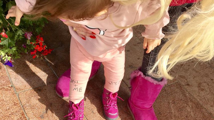 Pinkes Kätzchen: Sophia macht Mama Daniela Konkurrenz!