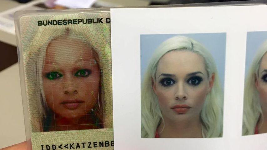 """""""Bekloppte Passbilder"""": Dani Katzenbergers Gesicht im Wandel"""