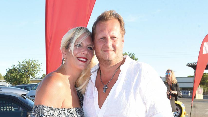 Daniela und Jens Büchner auf der Bild-Party auf Mallorca