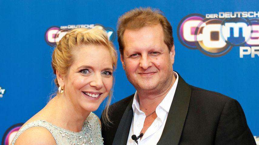 Daniela und Jens Büchner beim Deutschen Comedypreis 2016