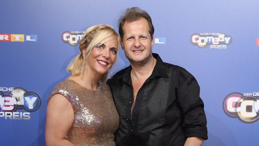 Daniela und Jens Büchner beim Deutschen Comedy-Preis 2018 in Köln
