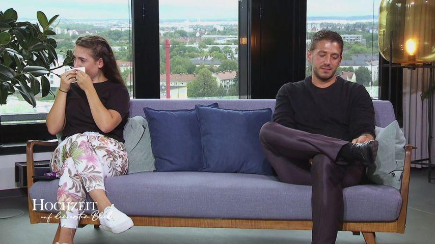 """Daniela und René im Finale von """"Hochzeit auf den ersten Blick"""""""
