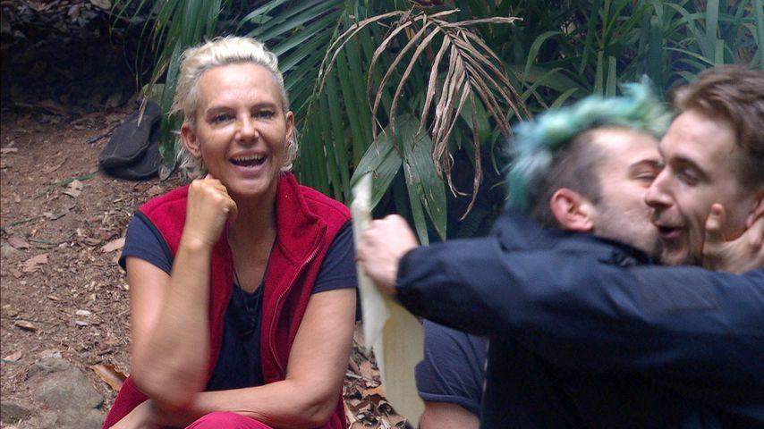 Daniele ist super happy und herzt David