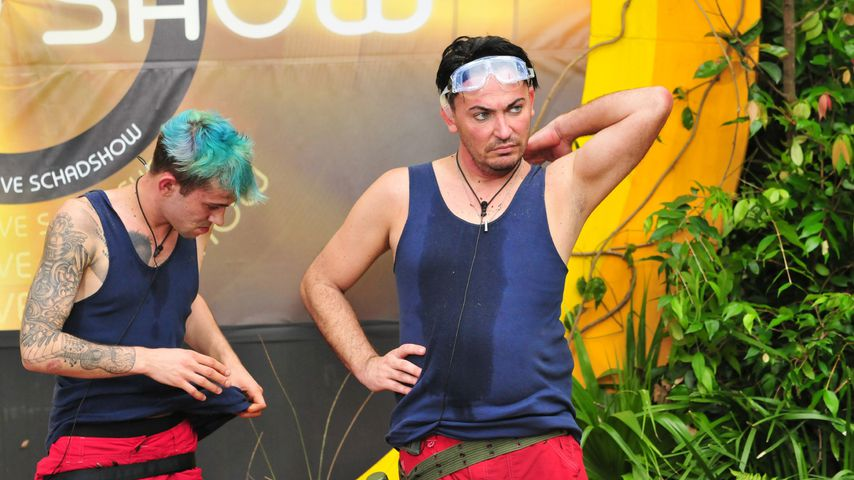 Dschungelcamp-Kandidaten Daniele Negroni und Matthias Mangiapane