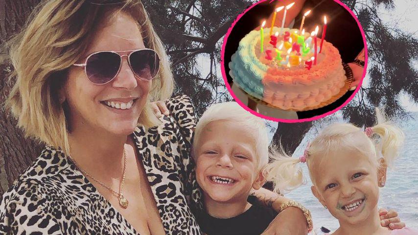 Torte und Hüpfburg: So feiern die Büchner-Twins Geburtstag