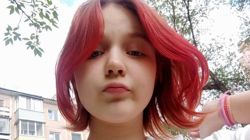 Darya Sudnishnikova macht ein Selfie