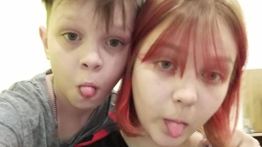 Darya Sudnishnikova (rechts) und ihr Freund Ivan im Jahr 2020