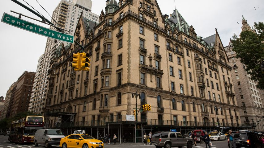 Vor dem Dakota Building in New York wurde Lennon 1980 erschossen