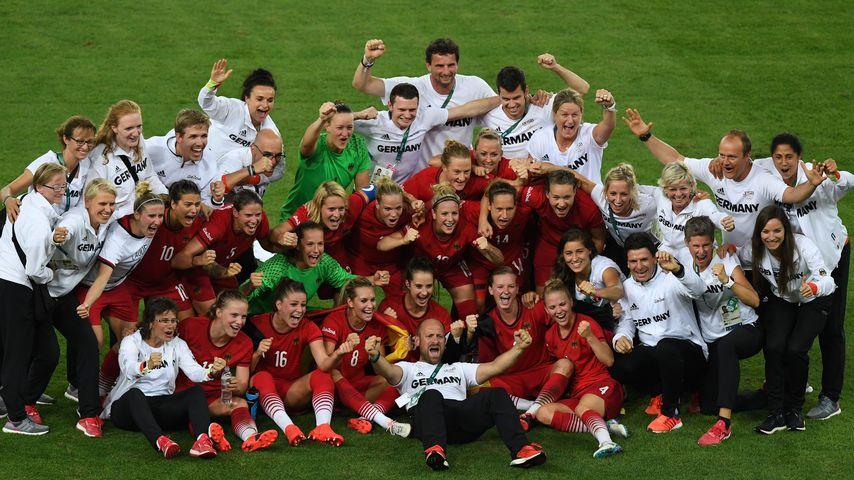 Olympia-Wunder: WM-Déjà-vu bei deutschen Fußball-Mädels