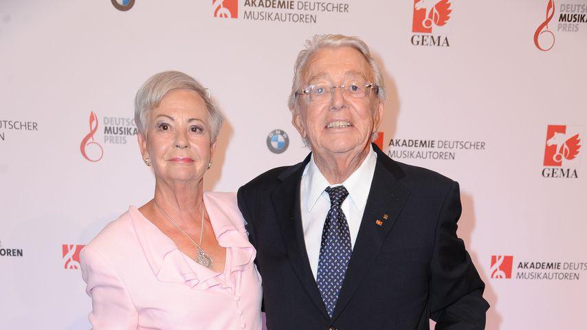 Ragnhild und Dieter Thomas Heck beim Deutschen Musikautorenpreis 2015 in Berlin