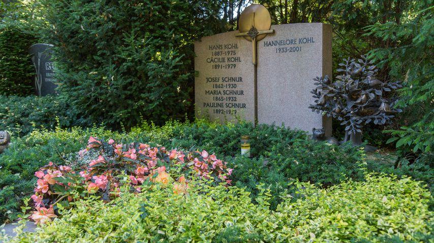 Das Familiengrab der Kohls