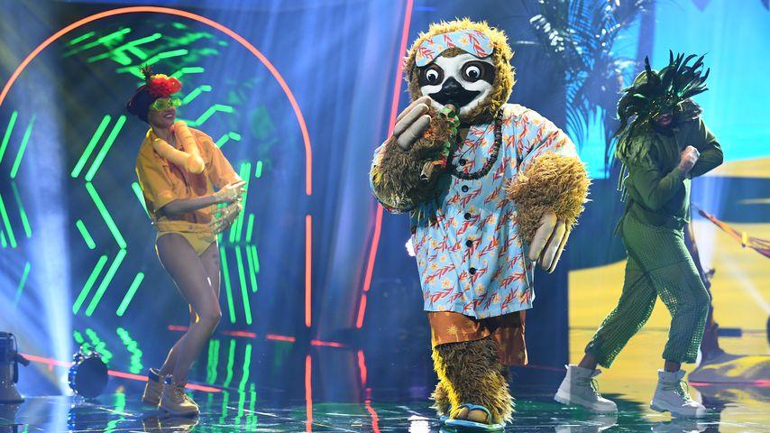 """Das Faultier in der ersten Folge von """"The Masked Singer"""""""