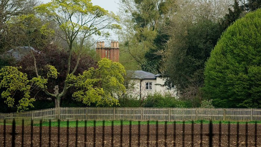 Das Frogmore Cottage auf dem Gelände von Schloss Windsor