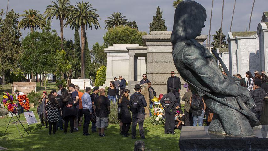 Das Grab von Sänger Chris Cornell