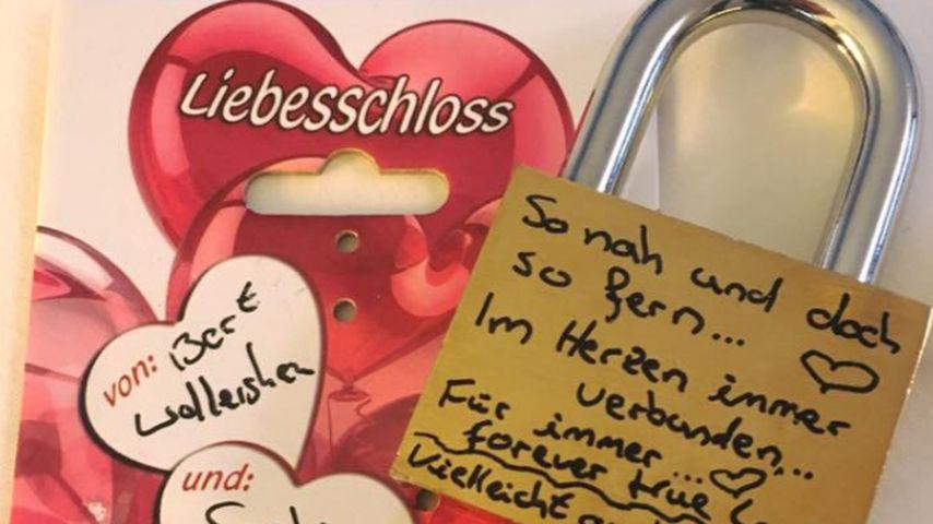 Das Liebesschloss von Bert und Sophia Wollersheim