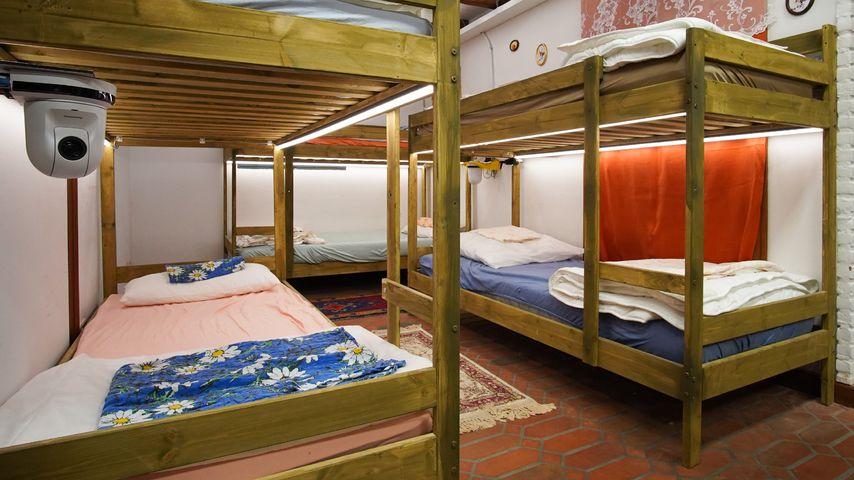 Das Schlafzimmer im RTL-Sommerhaus