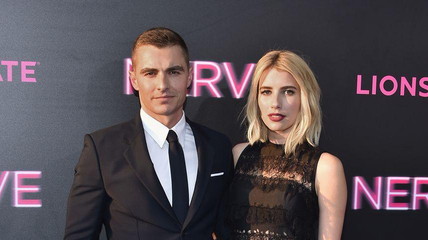 """Dave Franco und Emma Roberts bei der Premiere von """"Nerve"""""""