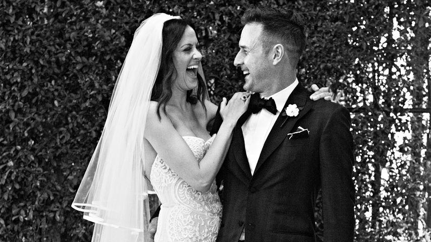 Frisch verheiratet: Das ist David Arquettes 1. Hochzeitsfoto