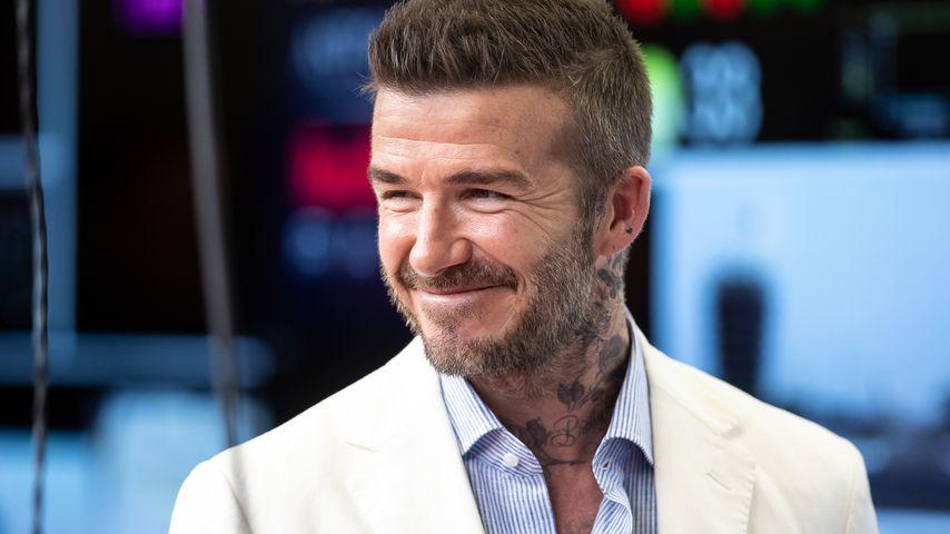 David Beckham bei einem Rennen der Formel 1 in Bahrain im März 2019