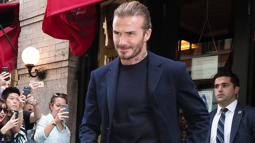 Botox bei David Beckham? Der 42-Jährige spricht Klartext