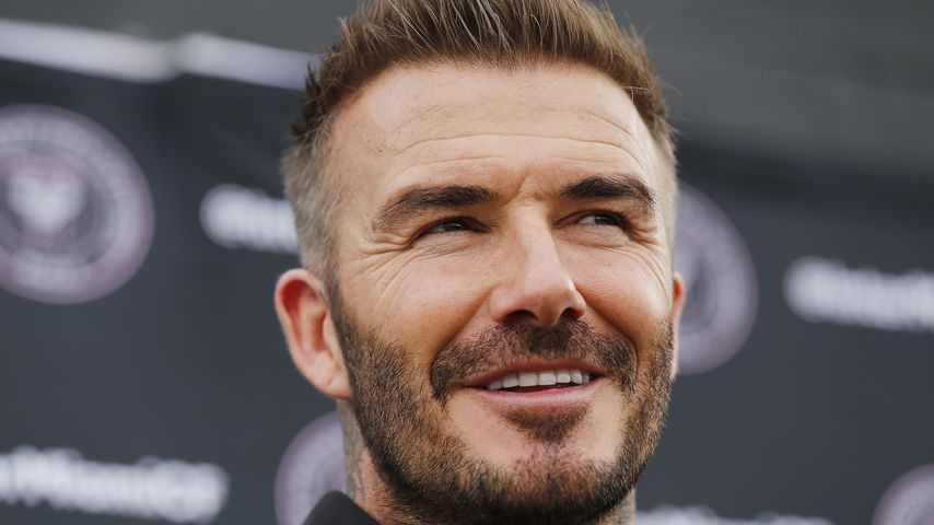 David Beckham im Jahr 2020