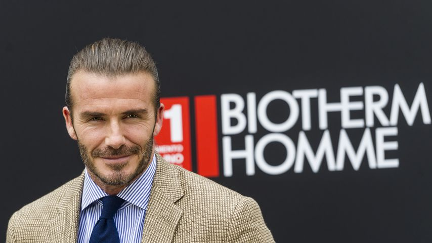 David Beckham in Madrid