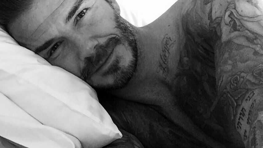 Kaum noch Platz am Body: David Beckham hat ein neues Tattoo!