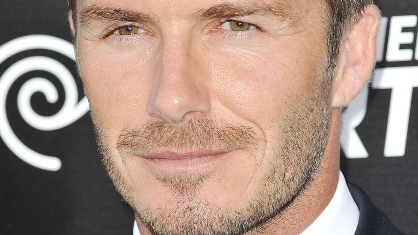 Fans verletzt: Massenpanik wegen David Beckham