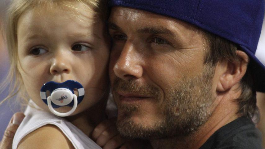 David Beckham und Harper Seven Beckham