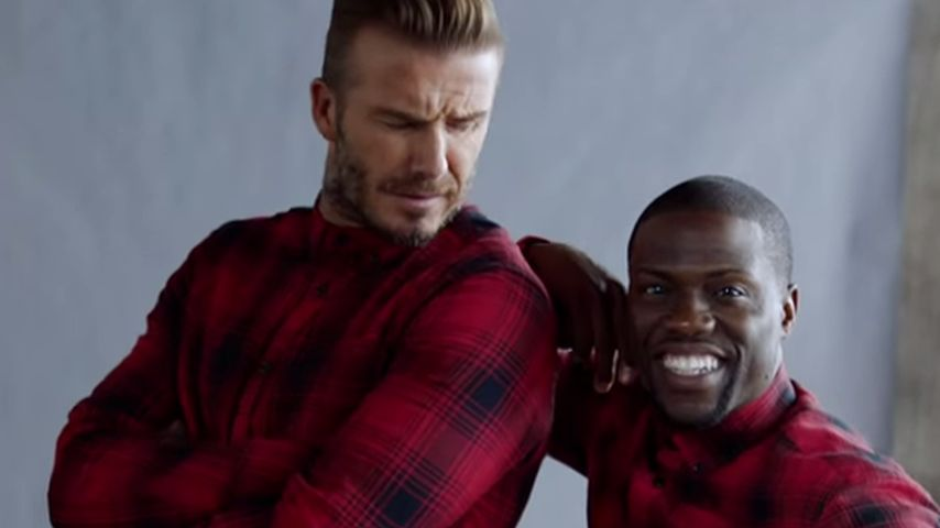 David Beckham 2.0: Kevin Hart verwandelt sich in den Kicker