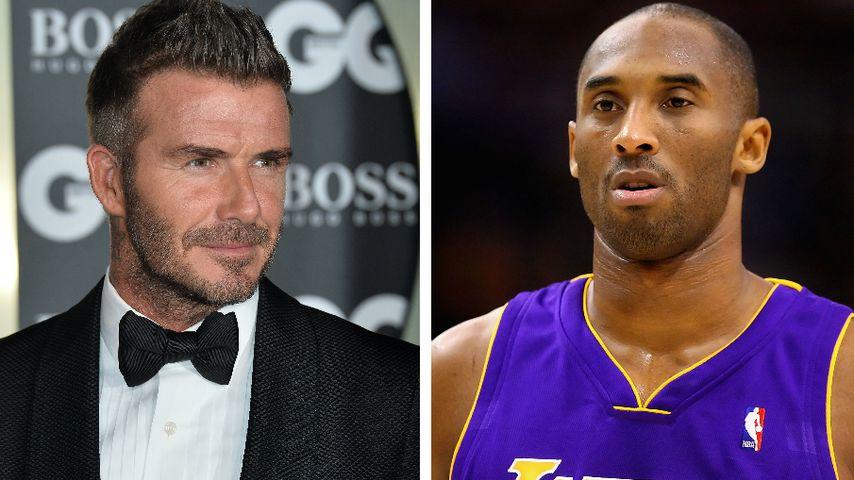 Rührende Worte: David Beckham bestürzt über Kobes Tod