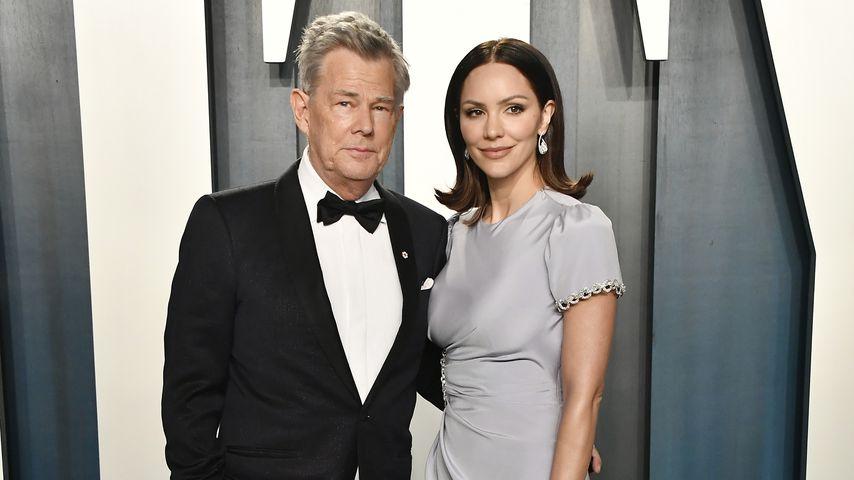 David Foster und Katharine McPhee auf der Oscar Afterparty in Beverly Hills im Februar 2020