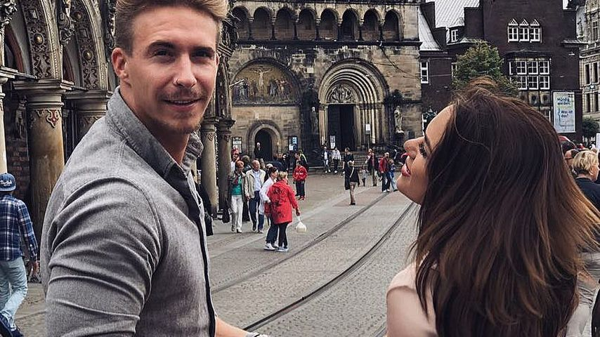 David Friedrich und Jessica Paszka in Bremen