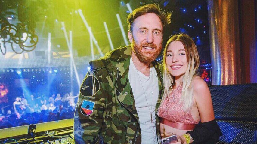 David Guetta und Bibi Claßen